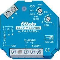 ELD61. 12-36VDC, Lav volt dimmer. 12-36VDC