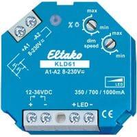 KLD61. Kontantstrøm dimmer. 12-36VDC