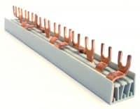 Fordelingskinne (L1, L2, L3, N) 4P, 57 moduler, MB4F