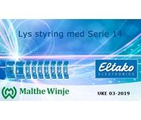 Lys styring med Serie 14 fra Eltako
