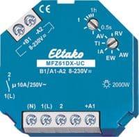 MFZ61DX. Multifunksjons tids rele. 1NO, 10A/250V