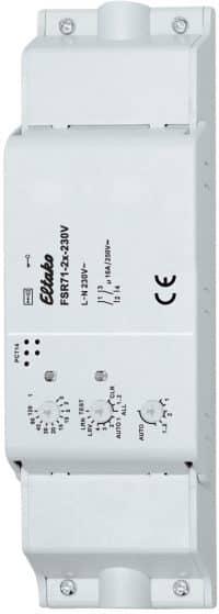 FSR71NP-2x-230V. Trådløs bryte aktuator. 1+1NO/2NO, 16A/250V