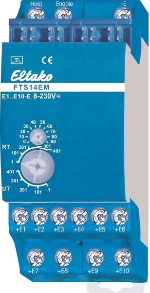 FTS14EM. Inngang modul for inntil 10 stk impulsbrytere