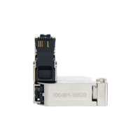 90° RJ45 connector for PROFINET. IDC terminering