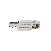 145° RJ45 connector for PROFINET. IDC terminering