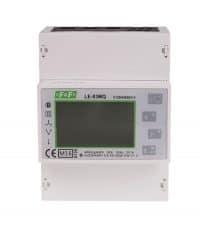 LE-03MQ. Trefas 400/230V toveis måler og nett analysator for TN og IT nett. RS485 Modbus. 100A. 4,5