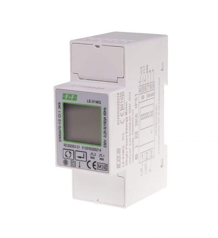 8200927 LE-01MQ toveis kWh måler og nettanalysator 8200927