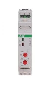 Strøm styrt rele med 1 vekselkontakt < 16A.Styrespenning 230VAC, Styre strøm 0,6-16A. 1 m