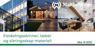 Ukesinfo om sikringskap, lasker og sikringsskal materiell fra malthe winje