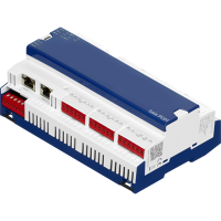 PCD1.M2220-C15 E-Line CPU with Ethernet, 512 kB. 4 DI, 2 AI, 2 IO slots
