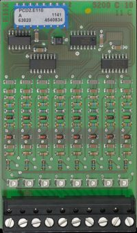 PCD2.E110, Digital Input Module with 8 Inputs, 24VDC, source/sink, 8ms