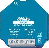 SNT61-230/12V. Trafo 230VAC/12VDC-0,5A
