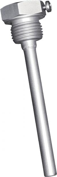 TH08-VA100MM, 100mm lommeforvannføler,rustfrittstål V4A