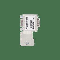 90° ProfiBus connector, skrutilkobling, stackable