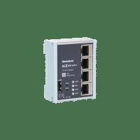 Industriell WAN router. 3 LAN, 1 WAN porter. REX 100 WAN.