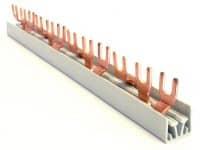 Fordelingskinne, 3P+N, (L1+N, L2+N, L3+N), 21 moduler, MB3NF/21